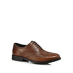 Henley Comfort - Tan leather lace brogues
