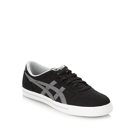 Onitsuka Tiger - Black logo court trainers