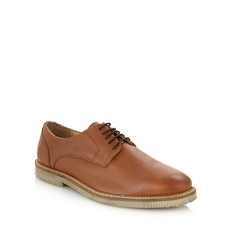 J by Jasper Conran - Designer tan leather lace up shoes