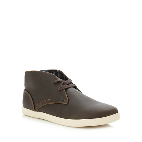 Red Herring - Brown chukka boots