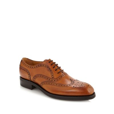 Berwick Tan leather lace brogues - . -
