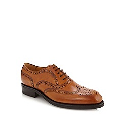 Berwick - Tan leather lace brogues