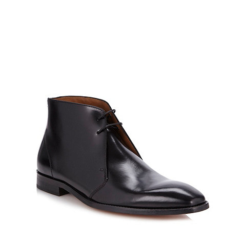 Hammond & Co. by Patrick Grant - Black leather chukka boots
