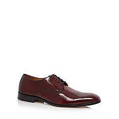 Hammond & Co. by Patrick Grant - Plum leather lace shoes