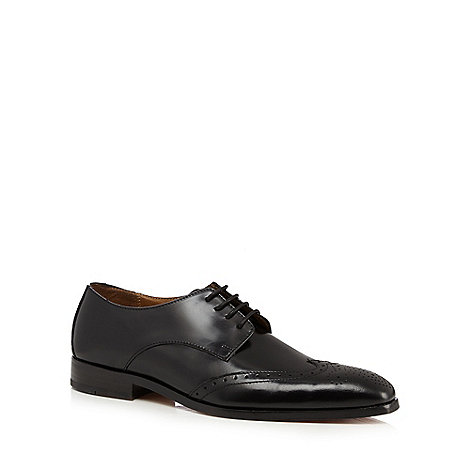 Hammond & Co. by Patrick Grant - Designer black leather brogues