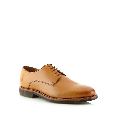 Hammond & Co. by Patrick Grant - Designer tan leather lace up shoes