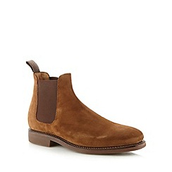 Hammond & Co. by Patrick Grant - Tan suede Chelsea boots