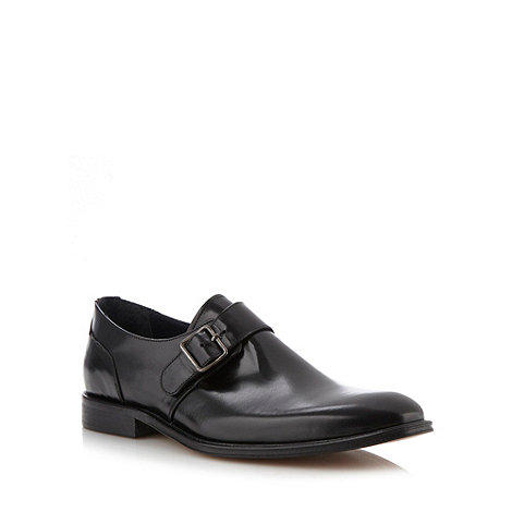 Hammond & Co. by Patrick Grant - Designer black leather buckled shoes