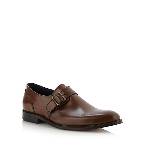 Hammond & Co. by Patrick Grant - Designer brown leather buckled shoes