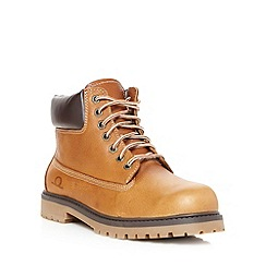 Chatham Marine - Tan leather lace ankle boots