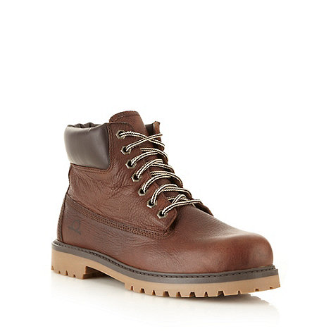 Chatham Marine - Dark brown leather lace up boots
