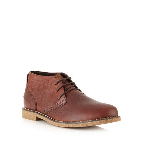 Chatham Marine - Brown leather chukka boots