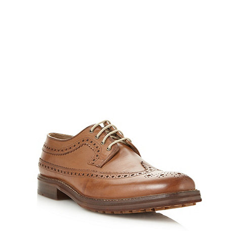 Ben Sherman - Brown leather brogues