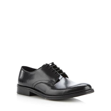 Ben Sherman - Ben Sherman black leather smart shoes