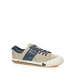 Merrell - Grey canvas lace up shoes