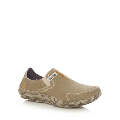 Cushe Tan casual slipper shoes - . -