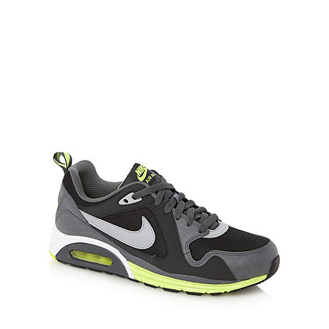 Nike - Black +Air Max Trax+ trainers