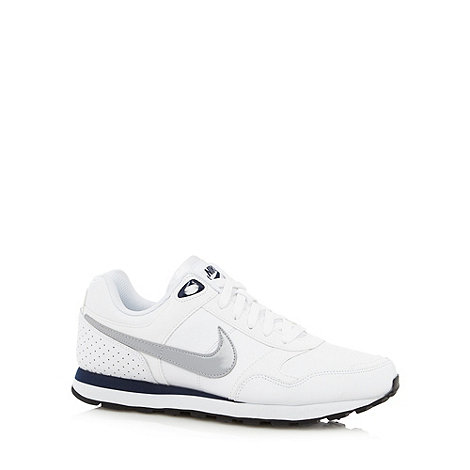 Nike - Nike white +MD runner+ trainers