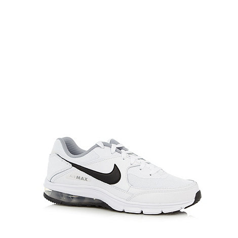 Nike - Nike white +Airmax Rebel+ trainers