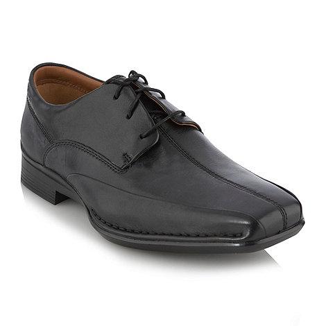 Clarks - Black +Falcon+ lace up shoes