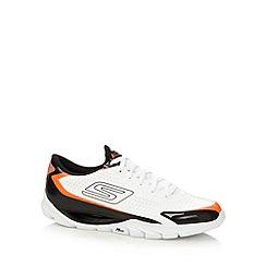 Skechers GOrun - White 'Go Meb KRS' running trainers