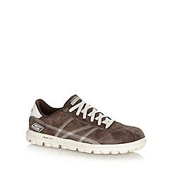 Skechers GOrun - Brown 'On The Go Play' trainers