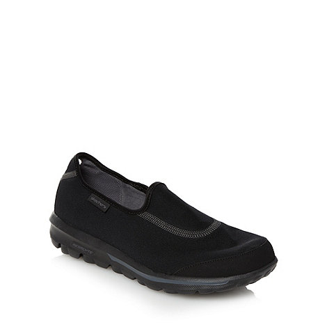 Skechers GOrun - Black +Go Walk+ trainers