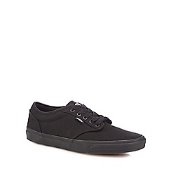 Vans - Black 'Atwood' canvas shoes