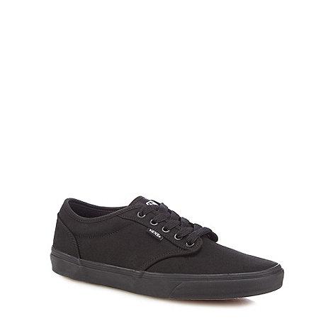 Vans - Black +Atwood+ canvas shoes