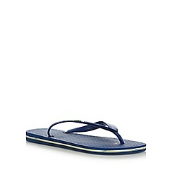 Ipanema - Dark blue Rio flag flip flops