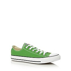 Converse - Converse green lace up trainers