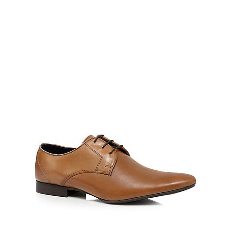 Red Herring - Tan leather lace up shoes