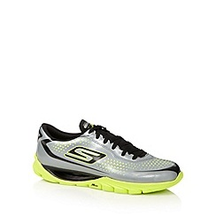 Skechers GOrun - Silver 'Go Meb KRS' running trainers