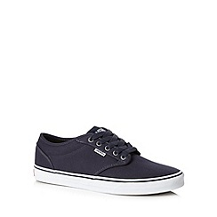 Vans - Navy 'Atwood' canvas shoes