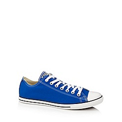 Converse - Blue 'All Star' canvas trainers