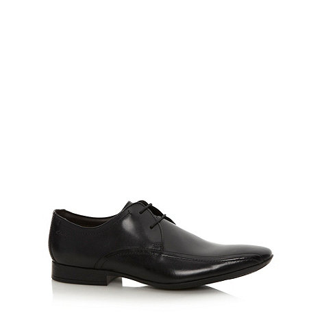 Clarks - Black +Glint+ lace up shoes