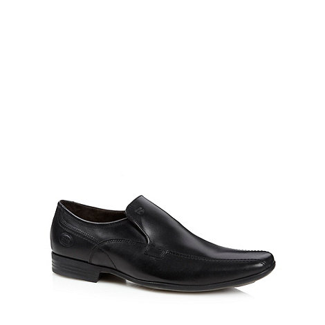 Base London - Black leather loafers