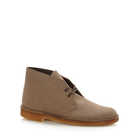 Clarks - Beige Original Desert boots