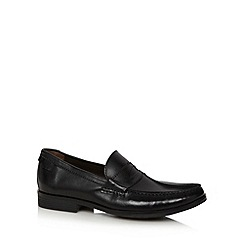 Clarks - Black 'Cantin Sole' slip on shoes