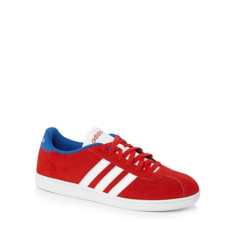 adidas - Red +Court Collegiat+ trainers