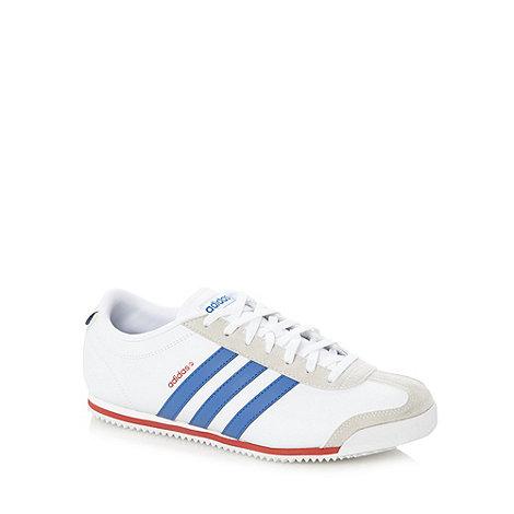 adidas - White +Runeo Zetroc+ trainers