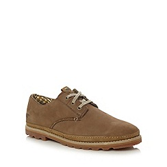 Caterpillar - Brown suede lace up shoes