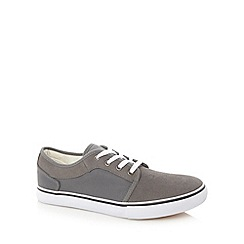 FFP - Grey suede leather trainers