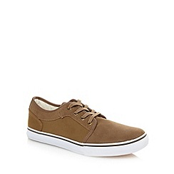 FFP - Tan suede leather trainers