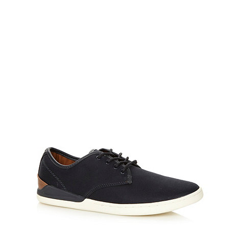 FFP - Navy panelled lace up trainers