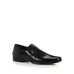Thomas Nash - Black slip on leather shoes