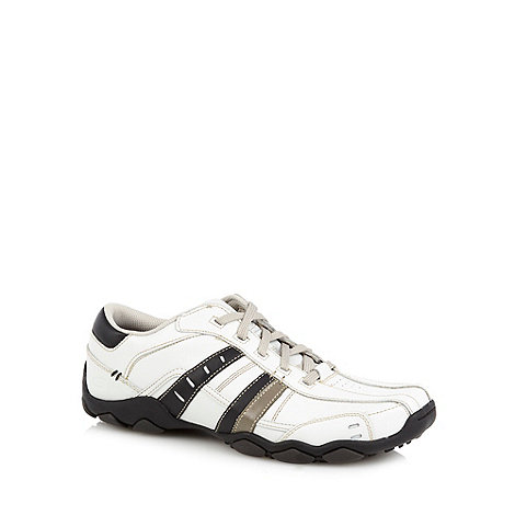 Skechers - White & black +Diameter - Vassell+ trainers