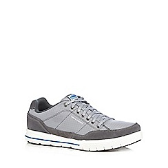 Skechers - Big and tall grey 'Arcade 2 Circulate' trainers