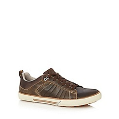 Skechers - Brown 'Talon Kane' lace up shoes