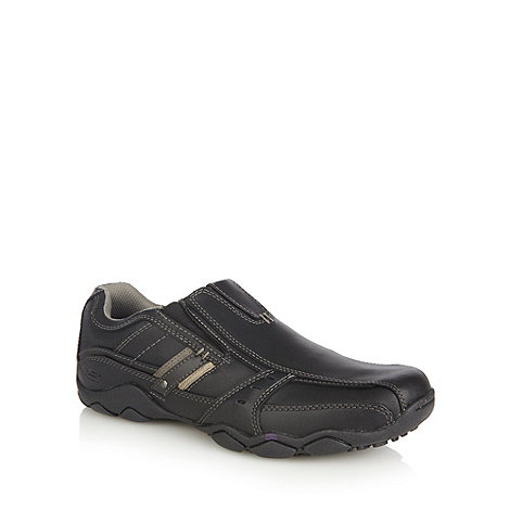 Skechers - Black leather +Diameter Garzo+ shoes